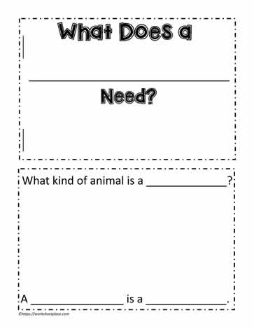 Animal Book Template