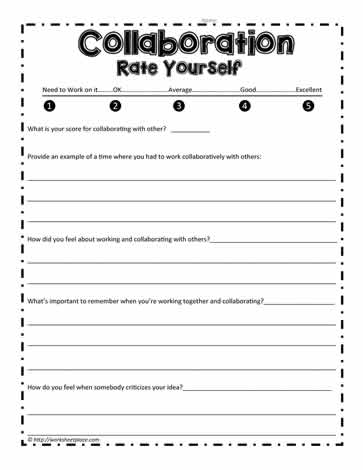 Collaboration Worksheet