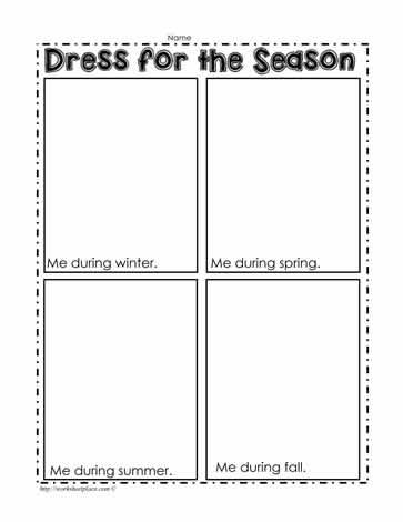 dress for the season worksheet worksheets. Black Bedroom Furniture Sets. Home Design Ideas