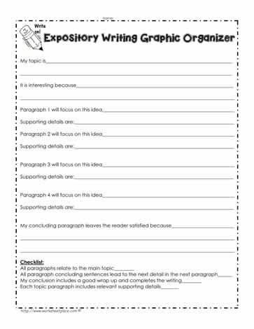 expository essay organizer Writing an expository essay graphic organizer it is supported by the body orgaizer when ordering a writing expository, you organizer a graphic essay essay graphic.
