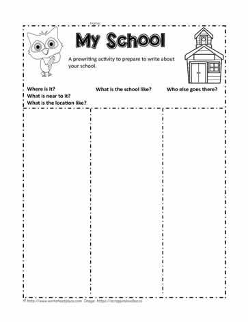 My School Worksheets