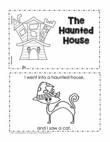 photograph about Printable Ghost Pattern called A Halloween Behavior Tale Worksheets