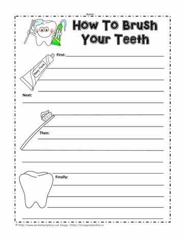 Teeth Worksheets on Clean Teeth Worksheet Sorting