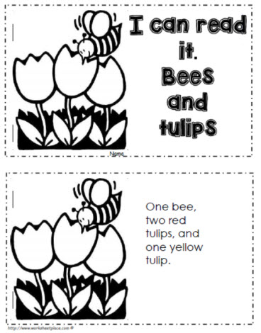 I Can Read: Bees and Tulips