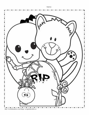Jack o lantern coloring page worksheets for Coloring pages of jack o lanterns