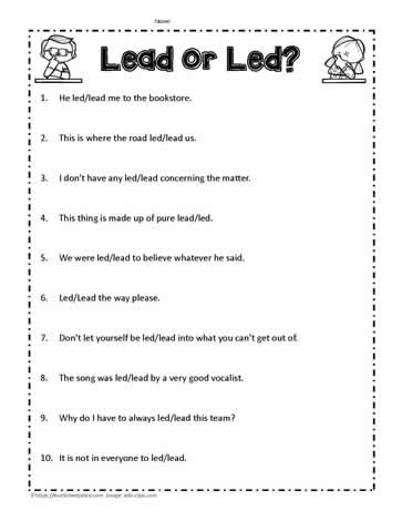 Lead Sentence