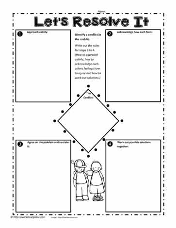 worksheet. Conflict Resolution Worksheets. Grass Fedjp Worksheet ...