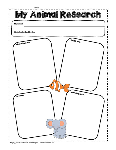 animal research paper graphic organizer You will research your animal's survival needs and adaptations to include in a research paper and multimedia use a graphic organizer to plan out your research.