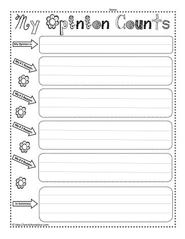 my opinion worksheet worksheets. Black Bedroom Furniture Sets. Home Design Ideas