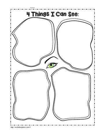 The Five Senses WorksheetsWorksheets