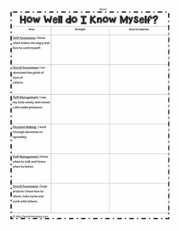 Kindergarten Social Skills Printable Worksheets - Intrepidpath