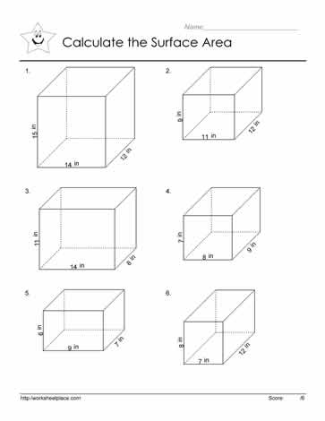 Rectangular Prisms Worksheets