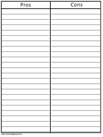 blank t chart in PDF for quick printing.