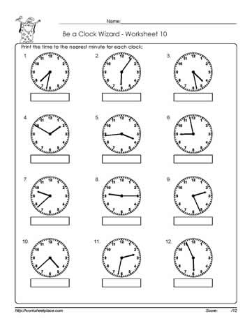 Telling-Time-Worksheet-10
