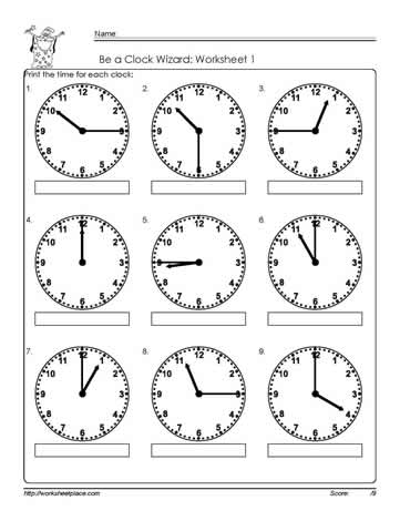 telling time to the quarter worksheet 1 worksheets. Black Bedroom Furniture Sets. Home Design Ideas