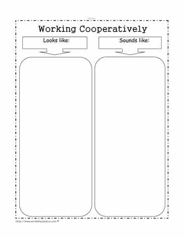 Work Cooperatively Goal