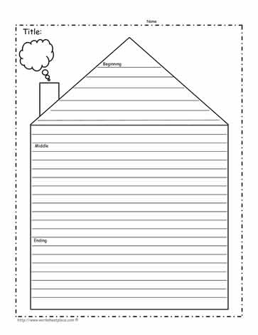 Story Beginning, Middle, End Worksheets