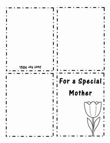 photo relating to Mothers Day Printable Activities titled Crank out A Moms Working day Card Worksheets