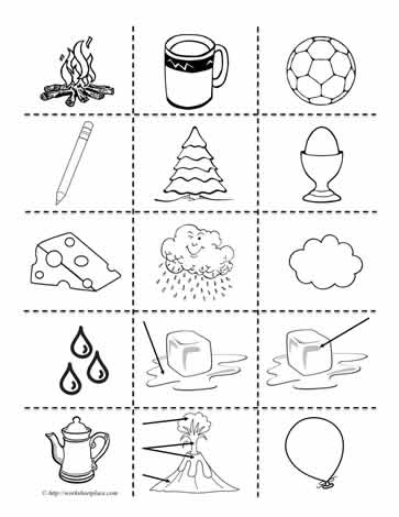Printable Worksheets For First Grade Science On Solids ...