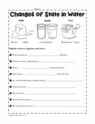 states of matter worksheet kidz activities. Black Bedroom Furniture Sets. Home Design Ideas