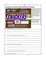 Media Literacy Worksheets