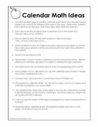 math worksheet : calendar math worksheets worksheets : Calendar Math Worksheets