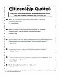 Citizenship Quotes