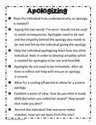 Poster for Apologizing
