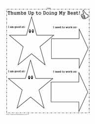 Young Learner Goal Worksheet