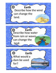 Earth Process Task Cards