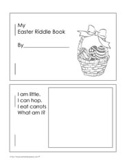 Easter Riddle Booklet