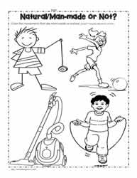 Worksheets Energy Worksheets energy worksheetsworksheets color the man made pictures