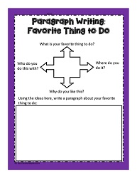 Paragraph Writing Worksheets