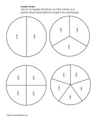photograph relating to Fraction Circles Printable named Portion Strips and Circles Worksheets