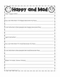 picture about Happiness Quiz Printable titled Thoughts Worksheets