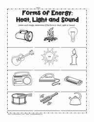 forms of energy coloring pages - photo#32