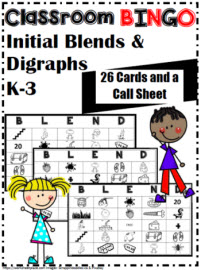 Blend and Digraph Bingo