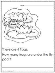 math worksheet : kindergarten problem solvingworksheets : Number Sense Worksheets Kindergarten