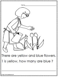 Kindergarten Math Word Problem to 3