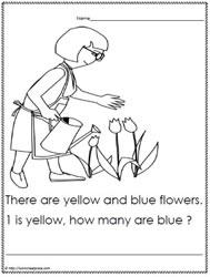 Kindergarten Problem SolvingWorksheets