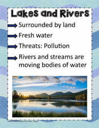 Posters on Lakes and Rivers