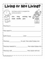 Worksheets Living And Nonliving Worksheets living and non things worksheetsworksheets or worksheet