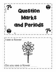 period exclamation and question marks worksheets. Black Bedroom Furniture Sets. Home Design Ideas