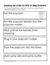 4th grade sequencing worksheets