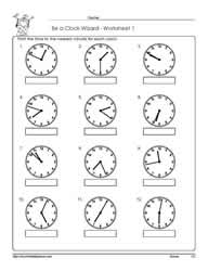 math worksheet : telling time to the nearest minuteworksheets : Math Worksheet Time