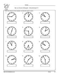 Telling-Time-Worksheet-9