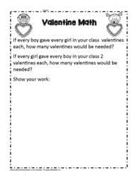 Valentines Exchange Math Problem
