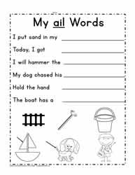 ail Sentence Writing