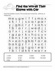 Wordsearch for ar Family