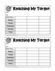Weekly Behavior Tracking Contract
